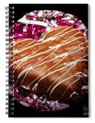 Love Baseball Square Spiral Notebook