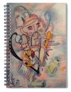 Love Collides  Spiral Notebook