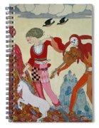 Love Desire And Death Spiral Notebook