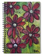 Love For Five Daisies Spiral Notebook