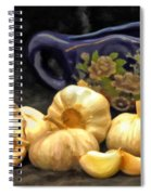 Love For Garlic Spiral Notebook