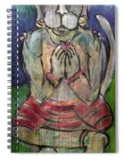 Love For Hanuman Spiral Notebook