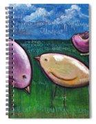 Love For Little Birds Spiral Notebook