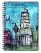 Love For London Spiral Notebook