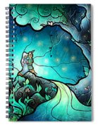 Love Goes On Spiral Notebook