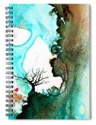 Love Has No Fear - Art By Sharon Cummings Spiral Notebook