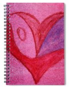 Love Heart 2 Spiral Notebook
