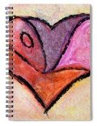 Love Heart 4 Spiral Notebook