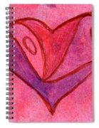 Love Heart 6 Spiral Notebook