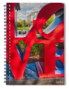 Love In City Park New Orleans Spiral Notebook