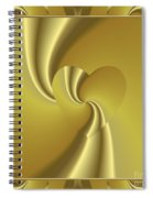 Love In Disguise Loves Golden Slumber Spiral Notebook
