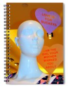 Love Is For Suckers Spiral Notebook