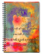 Love Is The Religion Spiral Notebook