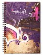 Love Istanbul 02 Spiral Notebook