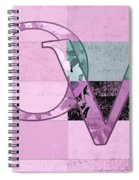 Love - J249115131t-grape Spiral Notebook