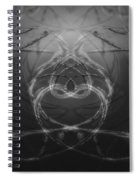 Love Life And Science Spiral Notebook