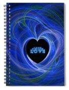Love - Love - Love Spiral Notebook