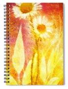 Love Me Tender Gold Spiral Notebook