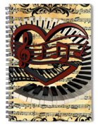 Love Of Music  Spiral Notebook