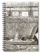 Love Of Travelling Alone, Illustration Spiral Notebook