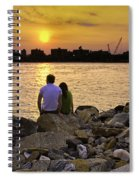 Love On The Rocks In Brooklyn Spiral Notebook