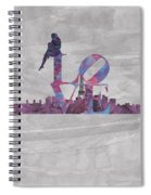 Love Over Paris Spiral Notebook
