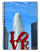 Love Park Spiral Notebook