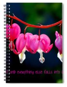 Love Quote Spiral Notebook
