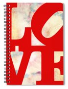Love Riding On Clouds Spiral Notebook
