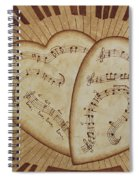 Love Song Of Our Hearts Spiral Notebook