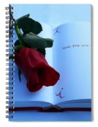 Love The One You're With Spiral Notebook