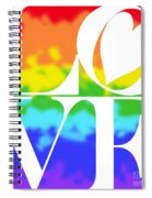 Love The Rainbow Spiral Notebook