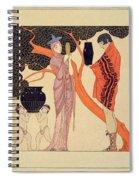 Love Token Spiral Notebook