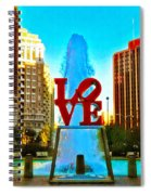 Love Town Spiral Notebook