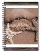 Love Triangle  Spiral Notebook