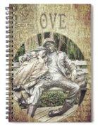 Love Unending Spiral Notebook