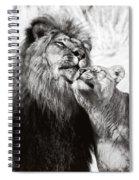 Love Ya You Big Lug Spiral Notebook