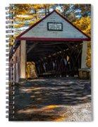 Lovejoy Covered Bridge Spiral Notebook
