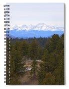 Lovell Gulch Hiking Trail Spiral Notebook