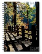 Lovely Day For Hike Spiral Notebook