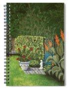 Lovely Green Spiral Notebook