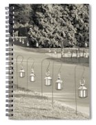 Lovely Lanterns At Longwood Spiral Notebook