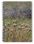 Lovely Layers Of Grass Spiral Notebook
