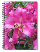 Lovely Lilies  Spiral Notebook
