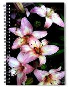 Lovely Lilies Spiral Notebook