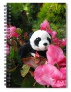 Lovely Pink Flower Spiral Notebook