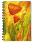 Lovely Poppies Spiral Notebook