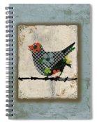 Lovely Song Bird Trio -1 Spiral Notebook