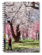 Lovely Spring Day For A Walk Spiral Notebook