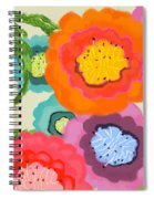 Lovely Square Spiral Notebook